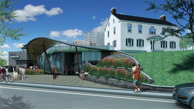rendering of Joseph Brant Museum